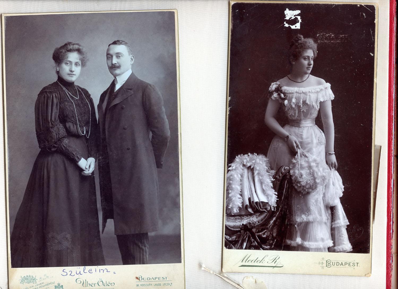 Családi képek a szerzőtől: Dédszüleim, Szendrei Irén és Hoffmann Károly