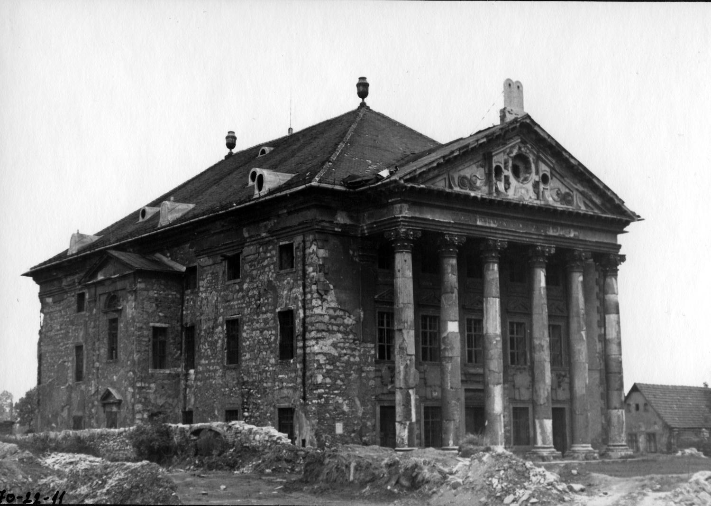 Az Óbudai Zsinagóga 1970-ben Forrás: Kiscelli Múzeum
