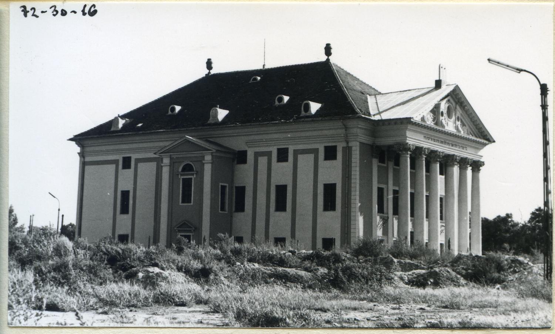 A Zsinagóga épülete 1972-ben Forrás: Kiscelli Múzeum