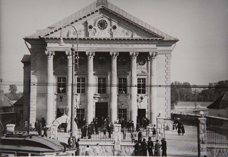 Az Óbudai Zsinagóga 1920-ban Fotó: Erdélyi Mór Forrás: Kiscelli Múzeum