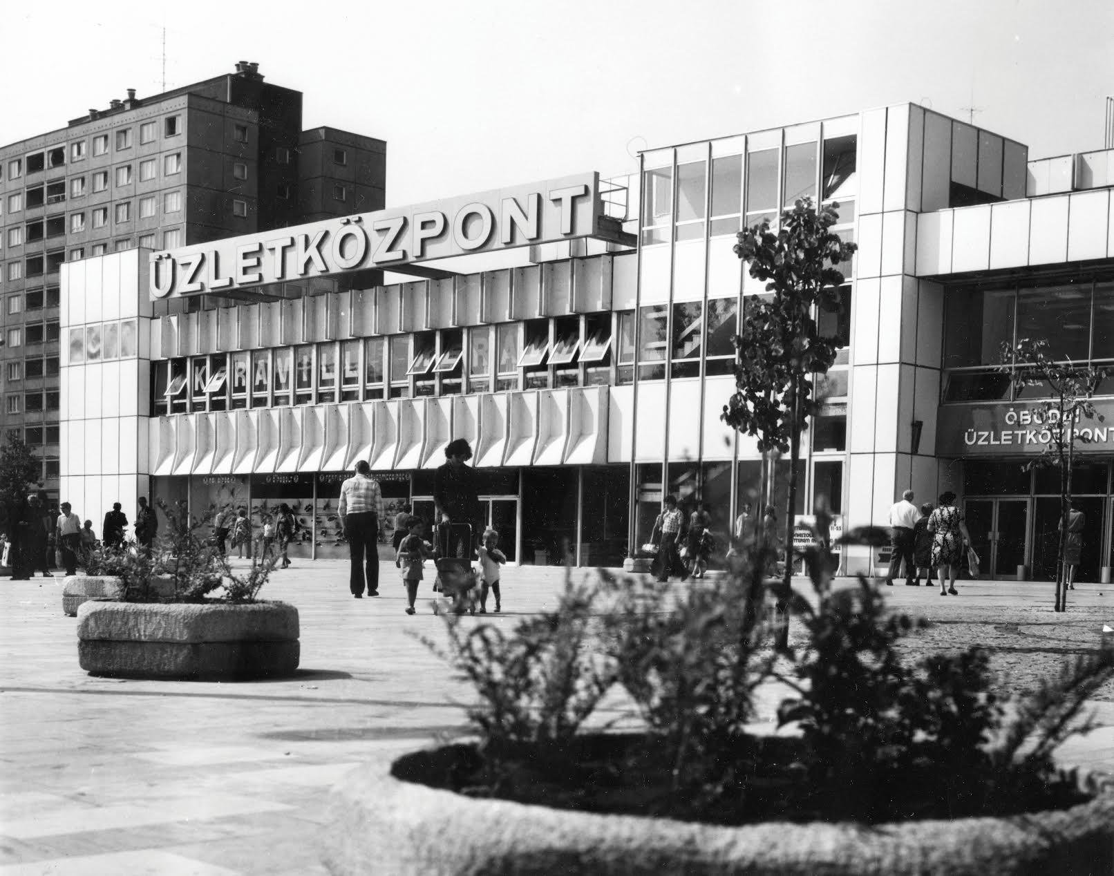 A Flórián téri bevásárlóközpont 1979. Forrás: Fortepan