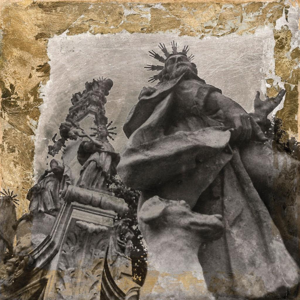 Szentlélek szobor agárral