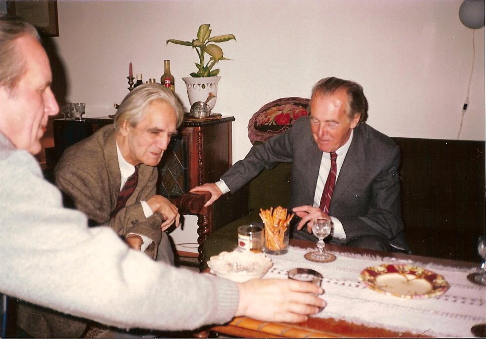 Ottlik Géza és Mándy Iván társaságában Fotó: Czigány Gergő